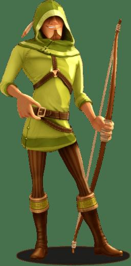 """Freispiele auf das Spiel """"Robin Hood: Shifting Riches"""" auf Stakers"""