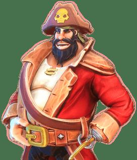 New Online Slots Illustration from Pirates' Plenty: Battle For Gold